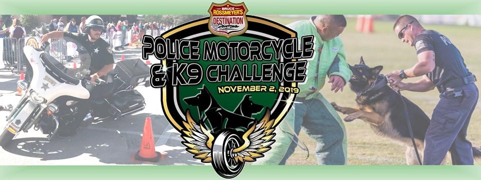 BRDD Police Motorcycle & K-9 Challenge